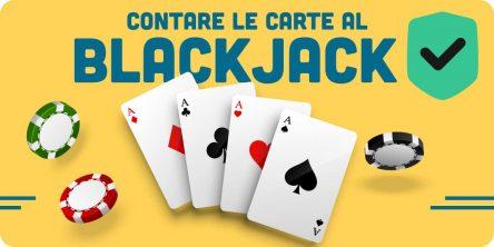 contare le carte al blackjack